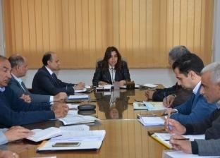 محافظ دمياط ومستشار وزير الإسكان يبحثان تنفيذ مشروعات المياه والصرف