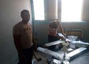 حرفيو الغربية يطورون مستشفى بسيون: بنشتغل كل جمعة مجانا