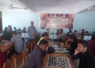 """جامعة المنيا تنظم بطولة """"الشطرنج"""" استعدادا لأسبوع الشباب بكفر الشيخ"""