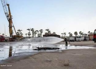 بعد إغلاقه 4 أيام.. إعادة فتح بوغاز مدينة عزبة البرج بدمياط
