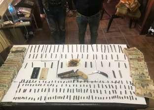 سقوط 8 من تجار المخدرات والأسلحة في حملة بالغربية