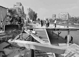 """""""حي العجوزة"""": نتظر دعم أجهزة الدولة لإزالة مخالفات نادي الزمالك النهري"""