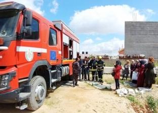 إخماد 300 حريق في الضفة الغربية خلال 24 ساعة بسبب موجة ارتفاع الحرارة