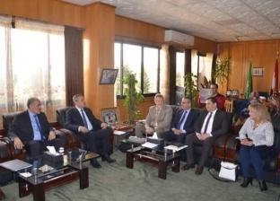 محافظ الإسماعيلية يستقبل وفد منظمة اليونيسيف لمناقشة دعم منظومة الصحة