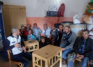 بالصور| العمال العائدون من ليبيا بعد احتجازهم 21 يوما: