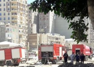 السيطرة على حريق داخل شقة سكنية في طنطا دون خسائر بشرية