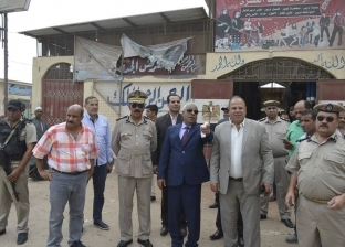 بالصور| مدير أمن كفر الشيخ يترأس حملة لإزالة الإشغالات