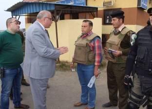 بالصور| مدير أمن دمياط يتفقد الأكمنة والتمركزات الأمنية في جولة مفاجئة