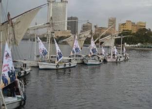 """مؤسسة بن راشد تدعم الصيد بتوزيع مراكب على صيادين """"لاقلته"""" بالأقصر"""