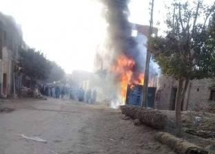 السيطرة على حريق بمحل في شرق شبرا الخيمة دون خسائر في الأرواح