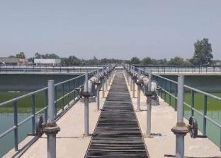 الانتهاء من مشروع توسعات محطة معالجة الصرف الصحي في شبين الكوم