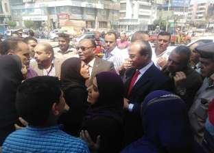 مساعد وزير الداخلية يتفقد الخدمات بأقسام الشرطة في المحلة