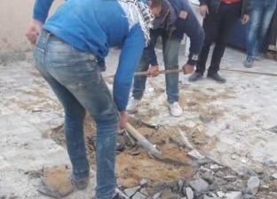 """حملات مكثفة للتصدي للبناء المخالف """"شرق الإسكندرية"""""""