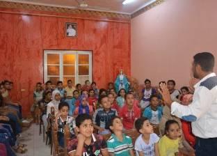 """""""بكرة"""" ينظم ورش عمل للقضاء على الجوع لـ95 طفلا في سوهاج"""