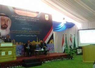 """حاكم إمارة الشارقة بالإمارات: """"جئت لزراعة القاهرة صدفة"""""""
