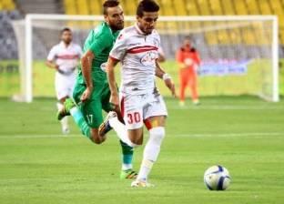 مصطفى فتحي يعزز النتيجة للزمالك أمام الأهلي بهدف ثالث