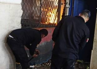 عاجل| حريق هائل بمصنع في مدينة دمياط الجديدة
