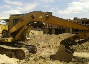 إزالة 13 حالة تعد على الأراضي الزراعية في مركز أبوتشت بقنا
