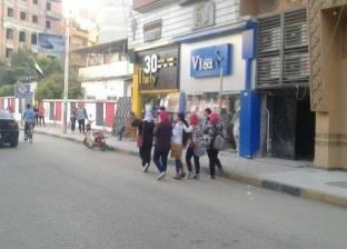 بالصور|شن حملة لغلق مراكز الدروس الخصوصية بمدينة دمياط