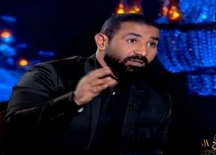 """أحمد سعد: محمد رمضان """"نمبر وان"""".. بس """"الأسطورة"""" نور الشريف"""
