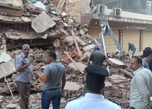 انهيار بمنزلين دون وقوع أصابات في سوهاج