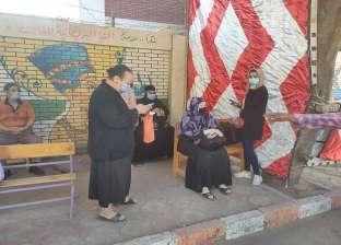 انتشار عناصر الشرطة النسائية بلجان انتخابات الشيوخ