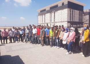 تدريب ميداني صيفي لطلاب هندسة من 3 جامعات في المنصورة الجديدة