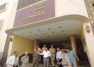 بالصور| مدير أمن الفيوم يوجه بشن حملات مرورية على الطرق بأبشواي