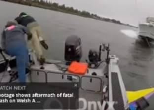 بالفيديو| نجاة 3 صيادين من الموت في أثناء رحلة صيد