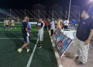 40 فريقا تتنافس في دوري الأحياء الشعبية خلال رمضان بالمنيا