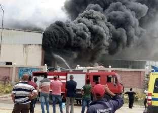 إسعاف 52 شخصا في موقع حريق مصنع ملابس الإسكندرية