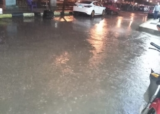 أمطار غزيرة تضرب مدنا بالبحيرة.. والمحافظ يرفع درجة الاستعداد للقصوى