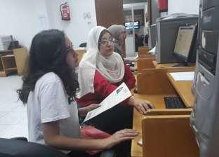 """إقبال كثيف من طلاب الدبلومات على معامل """"هندسة القاهرة"""""""