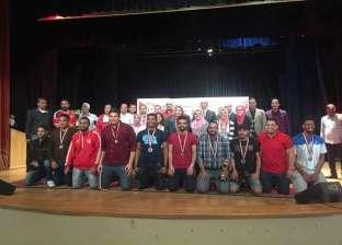 جامعة الزقازيق تحصد المركز الأول في مهرجان كرة السرعة