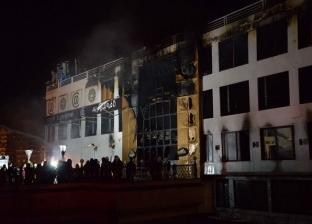 إصابة 3 أشخاص بينهم طفلة في حريق حوش مواشي بقنا
