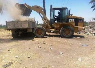 رفع 250 طن مخلفات من شوارع مدينة المراغة في سوهاج