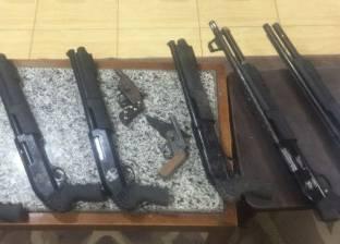 ضبط 12 قطعة سلاح وتحرير 7 قضايا مخدرات في كفر الشيخ
