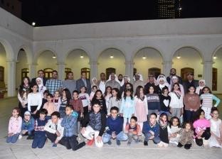معرض للرسم التراثي لأبناء الجالية المصرية في الكويت