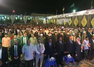 """بالصور  الآلاف يحضرون مؤتمر """"مستقبل وطن"""" لدعم السيسي في قنا"""