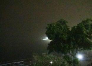 إغلاق بعض الطرق الرئيسية في أسوان بسبب العاصفة الترابية