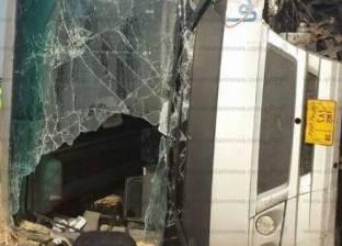 مصرع سائق وإصابة 4 في انقلاب سيارة ملاكي بالمنيا