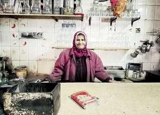 """""""أم فهد"""" بعد 15 سنة خدمة فى """"قهوة"""": """"الدنيا عايزة القوى مش المفترى"""""""