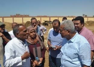 محافظ السويس يوجه بتطوير محطة تسمين الماشية