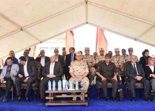 """محافظ بورسعيد ورئيس أركان الدفاع الشعبي يشهدان إطلاق """"صقر 50"""""""