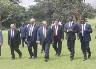 وزير الزراعة يبحث مع رئيس زامبيا التعاون المشترك