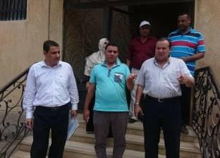 بالصور| رئيس مركز سيدي سالم يتفقد الوحدة المحلية لمتابعة سير العمل
