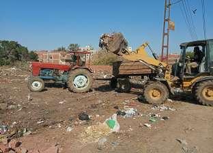 """رئيس """"السنطة"""" بالغربية يوجه بشن حملات نظافة واستكمال مشروعات الرصف"""
