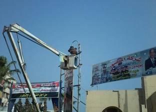 حملة مكثفة بحي الجمرك في الإسكندرية لمتابعة أعمال صيانة الكهرباء