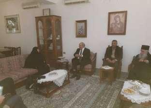 نائب وزير خارجية اليونان: رهبان جنوب سيناء يشيدون برعاية الدولة