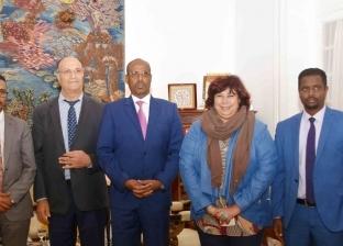 تفاصيل لقاء وزيري ثقافة مصر وجيبوتي لبحث التعاون المشترك